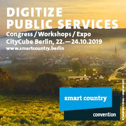 Early Bird Tickets sichern: Smart Country Convention 2019